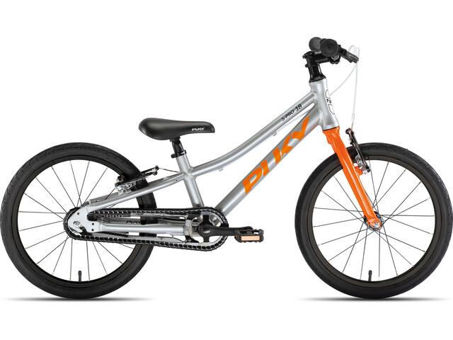 """Puky LS-Pro 18-1 Alu 18"""" Kids silver/orange"""
